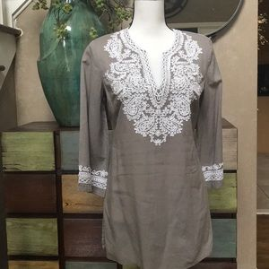 INC International Concepts Embroidered Tunic
